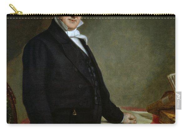President James Buchanan Portrait - George Peter Alexander Healy Carry-all Pouch
