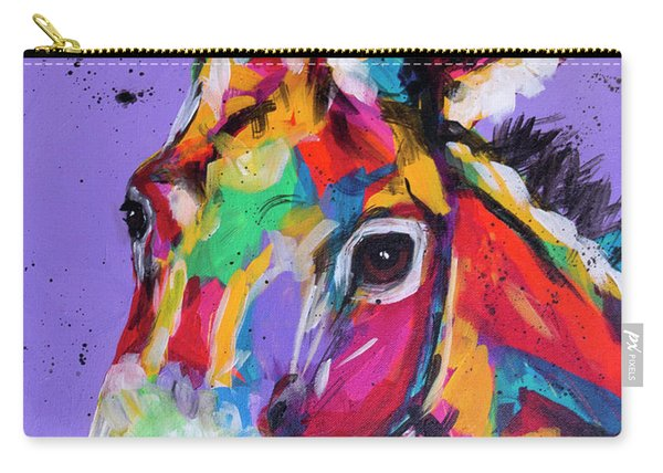 Pretty Donkey Carry-all Pouch