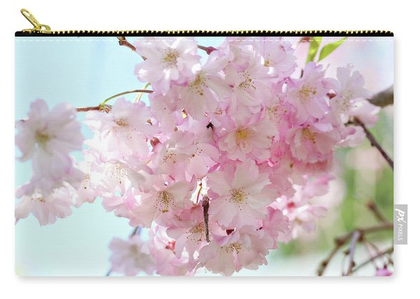 Pretty Pink Blossoms Carry-all Pouch