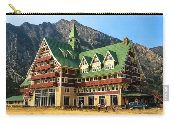 Prince Of Wales Hotel In Alberta Canada Carry-all Pouch