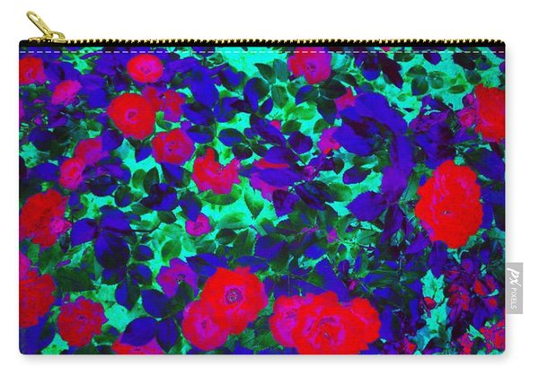 Carry-all Pouch featuring the mixed media Printemps by Rachel Maynard