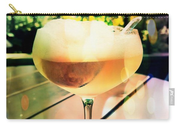 Carry-all Pouch featuring the photograph Prosecco Float by Rachel Maynard
