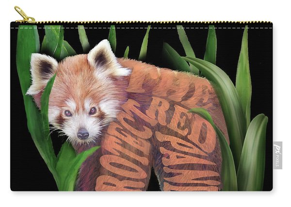 Protect The Red Panda Carry-all Pouch