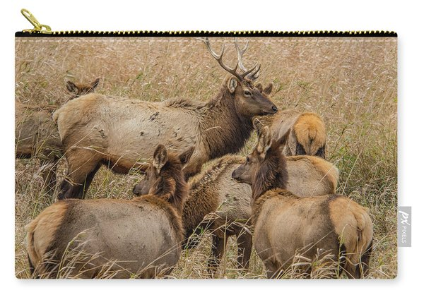Proud Bull Elk Carry-all Pouch