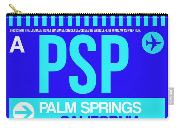 Psp Palm Springs Luggage Tag II Carry-all Pouch