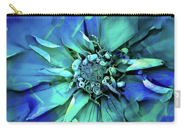 Psychedelic Blues Carry-all Pouch