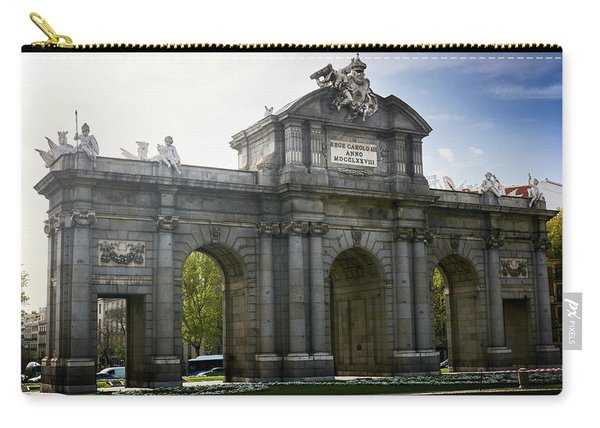 Puerta De Alcala In Madrid, Spain Carry-all Pouch
