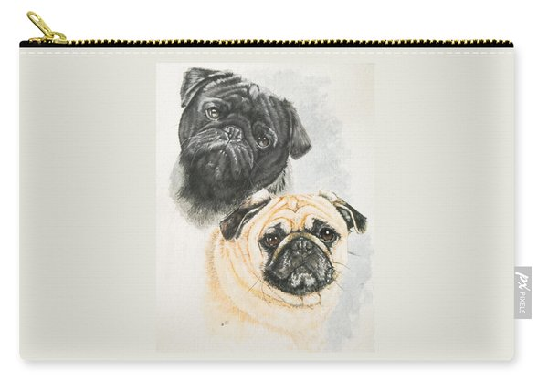 Pug Brothers Carry-all Pouch