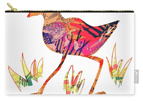 Pukeko Art Carry-all Pouch