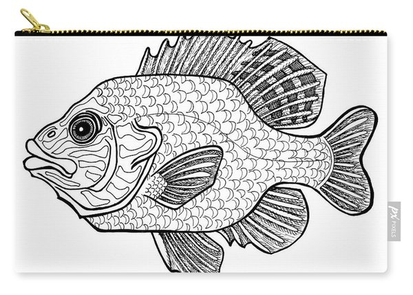 Pumpkinseed Fish Carry-all Pouch