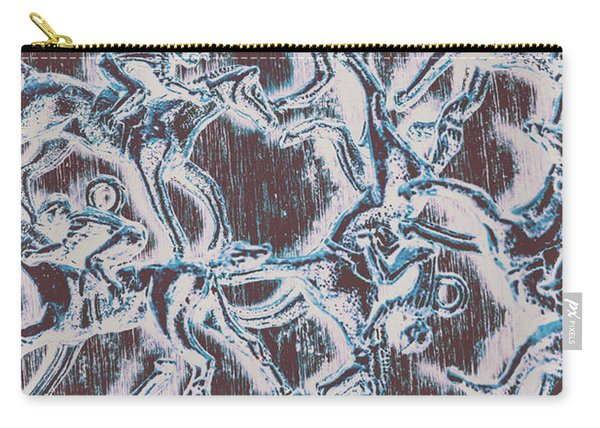 Punting Pattern Carry-all Pouch