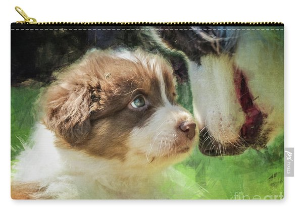 Puppy Dog Carry-all Pouch