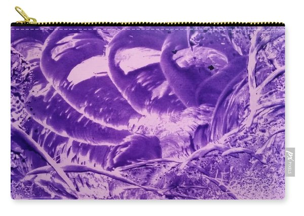 Purple Abstract, Octopus Carry-all Pouch