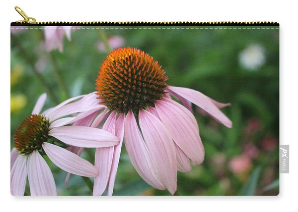 Purple Coneflower Pair Carry-all Pouch