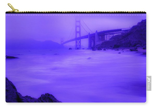 Purple Golden Gate Fog Carry-all Pouch