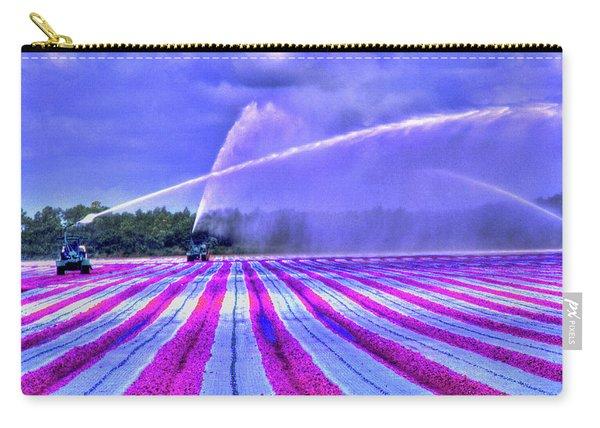 Purple Grain Carry-all Pouch
