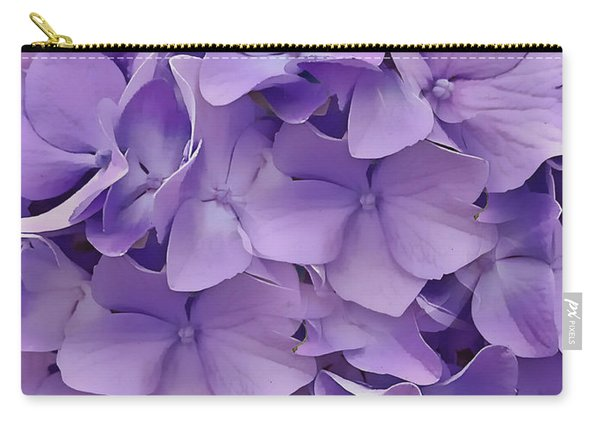 Purple Hydrangea  Carry-all Pouch