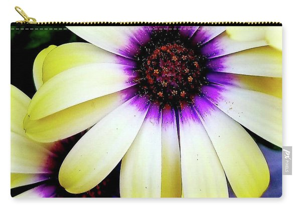 African Daisy Carry-all Pouch