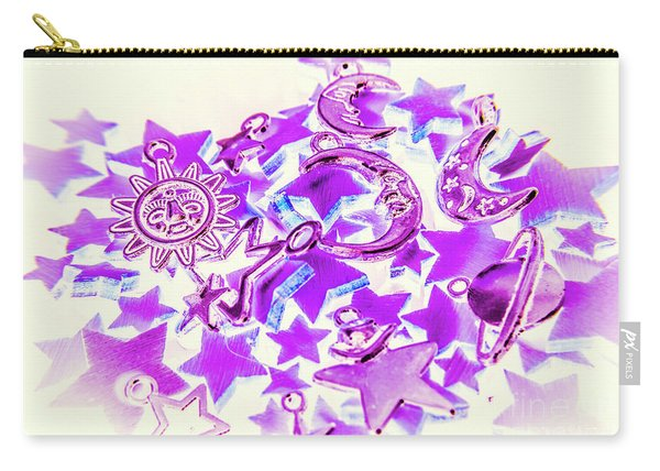 Purple Planetarium Carry-all Pouch