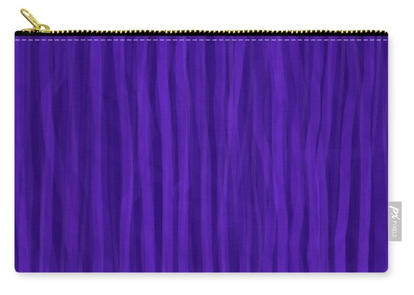 Purple Stripes Carry-all Pouch