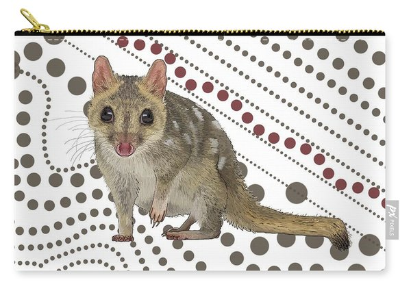 Q Is For Quoll Carry-all Pouch