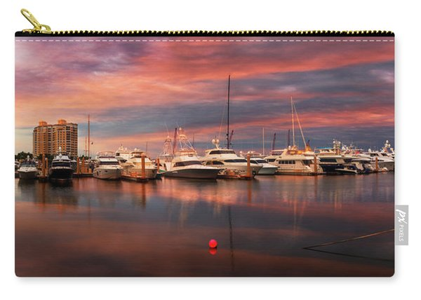Quiet Evening On The Marina Carry-all Pouch