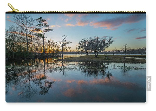 Quiet River Sunset Carry-all Pouch