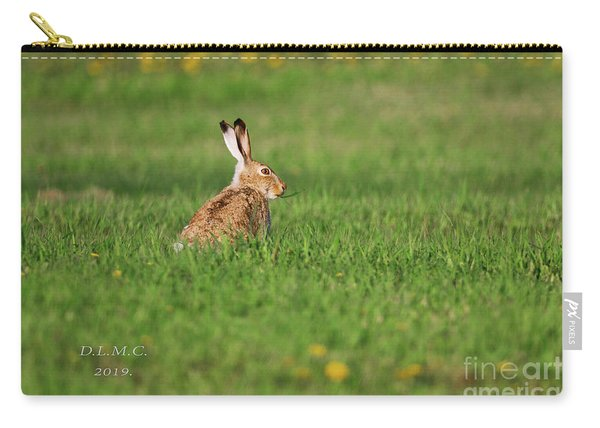 Rabbit Chews Carry-all Pouch