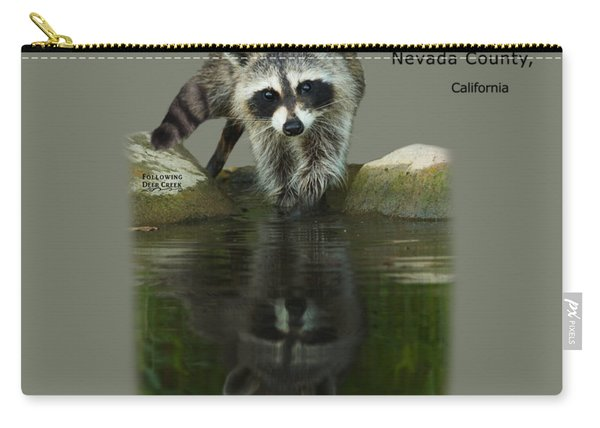 Raccoon Puzzler And Mastermind Carry-all Pouch