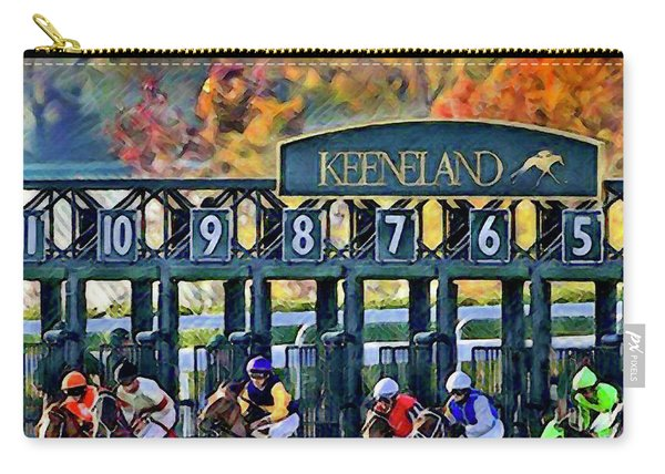 Fall Racing At Keeneland  Carry-all Pouch