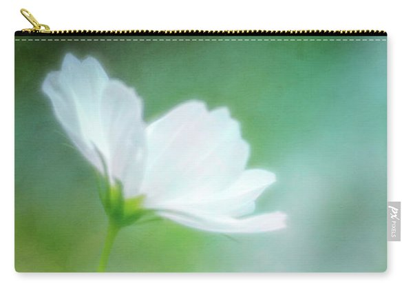 Radiant White Cosmos In The Evening Light Carry-all Pouch