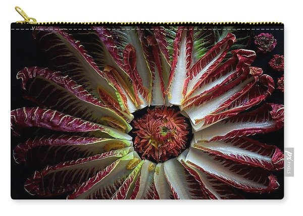 Radicchio Burst Carry-all Pouch