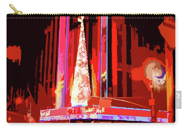 Radio City Music Hall Abstract Carry-all Pouch