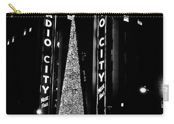 Radio City Music Hall - B/w Carry-all Pouch