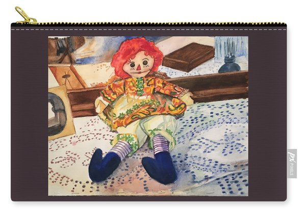 Raggedy Annie Carry-all Pouch