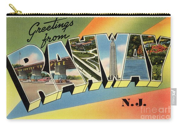 Rahway Greetings Carry-all Pouch