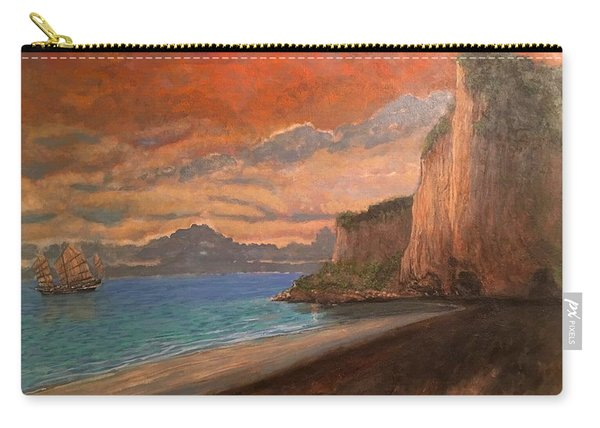 Railay Beach, Krabi Thailand Carry-all Pouch