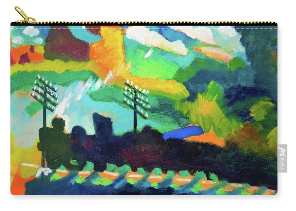 Railroad At Murnau - Digital Remastered Edition Carry-all Pouch