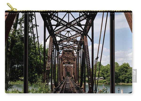 Railroad Bridge 6th Street Augusta Ga 1 Carry-all Pouch