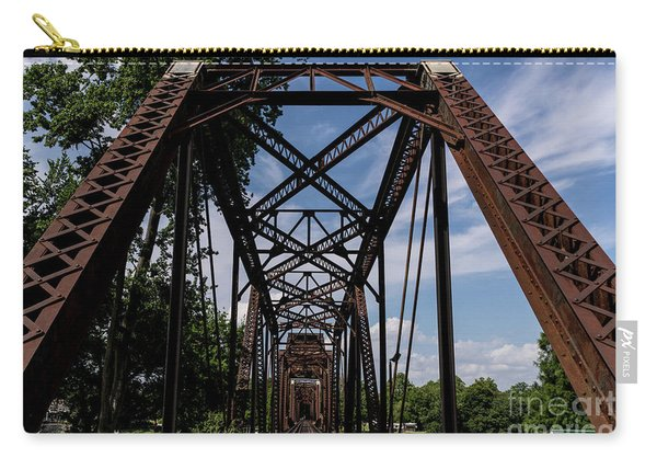 Railroad Bridge 6th Street Augusta Ga 2 Carry-all Pouch