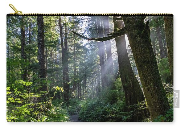 Rain Forest At La Push Carry-all Pouch