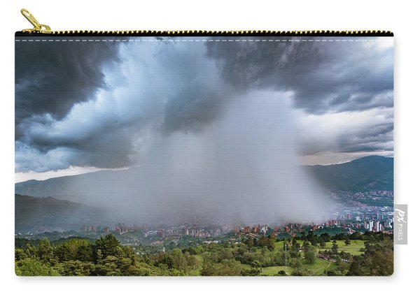 Rain Storm Over Medellin Carry-all Pouch