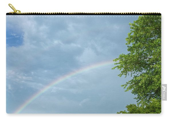 Rainbow And A Tree Carry-all Pouch