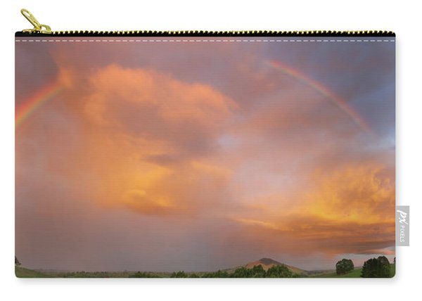 Rainbow In Nz Sky Carry-all Pouch