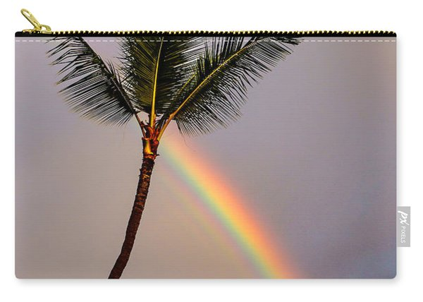 Rainbow Just Before Sunset Carry-all Pouch
