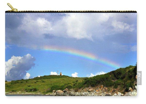 Rainbow Over Buck Island Lighthouse Carry-all Pouch