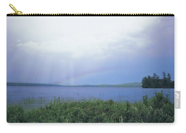 Rainbow Over Raquette Lake Carry-all Pouch