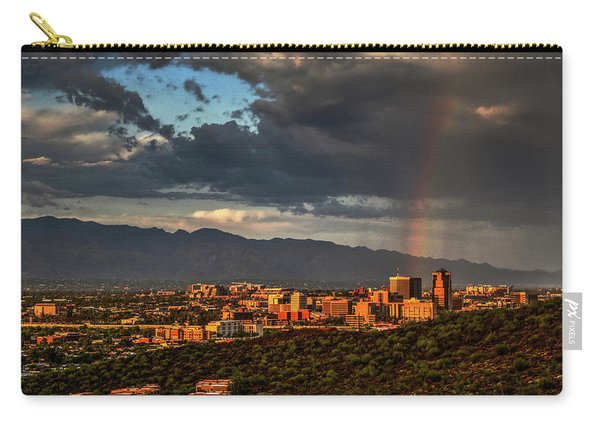 Rainbow Over Tucson Carry-all Pouch