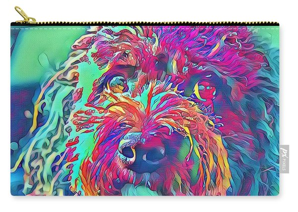 Rainbow Pup Carry-all Pouch
