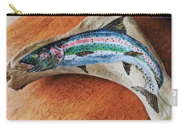 Rainbow Trout #1 Carry-all Pouch